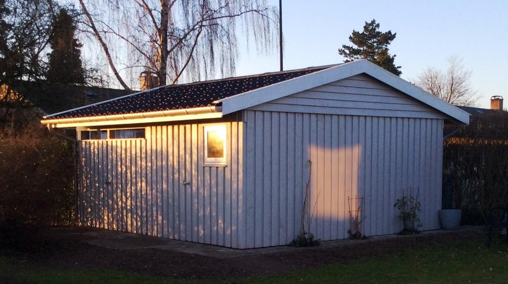 Selv garage priser byg Billige træhuse